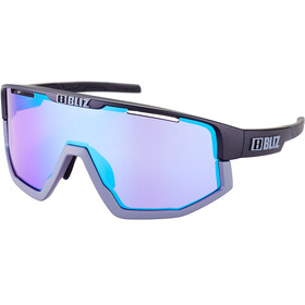 Bliz Fusion M12 Glasses matte black/matte grey/jawbone violet/blue multi nordic light